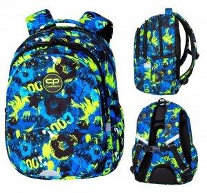 Plecak wczesnoszkolny CoolPack JERRY 21 L piłka nożna, FOOTBALL GREEN (D029329)