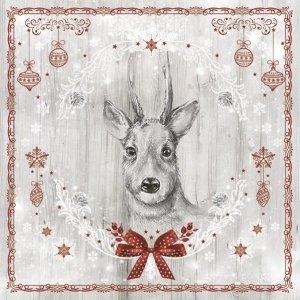 Serwetki świąteczne BOŻONARODZENIOWE Daisy (SD_GW_017501)