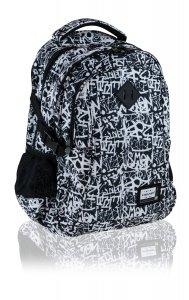 Plecak młodzieżowy Head 27 L białe wzory, GRAFITTI (502020024)