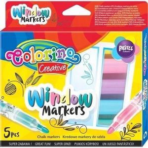 Markery kredowe pastelowe do szkła COLORINO Creative (39637)