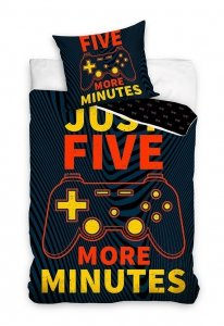 Pościel GAME Five More Minutes 140 x 200 cm komplet pościeli (NL201070)
