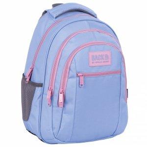 Plecak szkolny młodzieżowy BackUP 26 L PASTELOWY FIOLET (PLB4O37)