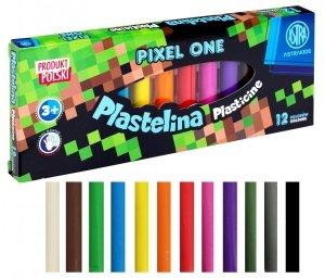 Plastelina 12 kolorów PIXEL dla fana gry MINECRAFT ASTRA (303221005)