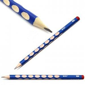 Ołówek do nauki pisania M&G 2B NIEBIESKI (13896)