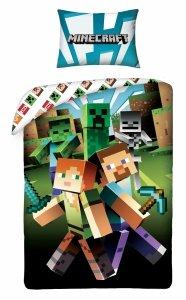 Komplet pościeli pościel Minecraft  140 x 200 cm (MNC-201BL)