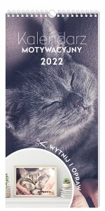 Kalendarz ścienny motywacyjny ZWIERZAKI zwierzęta 2022 (00126)