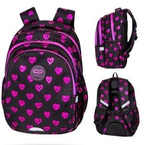 Plecak wczesnoszkolny CoolPack JERRY 21 L serca, ELECTRA HEARTS (D029334)