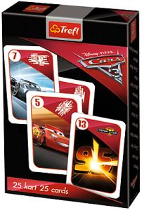 TREFL Gra karty PIOTRUŚ, Cars Auta (08474)