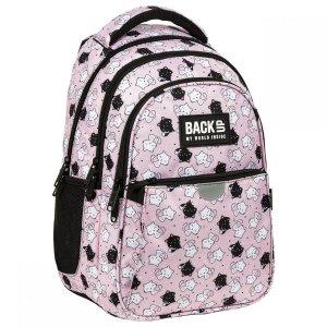 Plecak wczesnoszkolny BackUP 22 L KOTKI RÓŻOWY (PLB3P35)