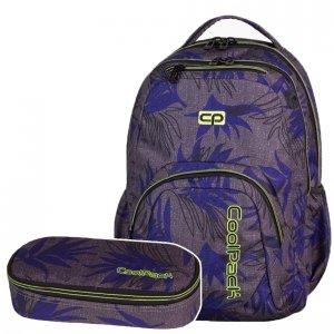 Zestaw Coolpack Plecak szkolny Piórnik SMASH PALM LEAVES 2 cz. (71086SET)