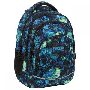 Plecak szkolny młodzieżowy BackUP 26 L kolorowe smugi, ULTRA (PLB3A06)