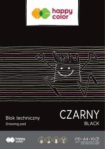 Blok techniczny czarny A4 HAPPY COLOR (05909)