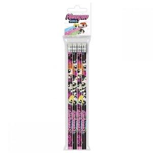Ołówek szkolny z gumką HB ATOMÓWKI 4 sztuki (OG4AT10)