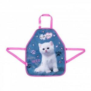 Fartuszek do prac plastycznych My Little Friend KITTY Kotek (35670)