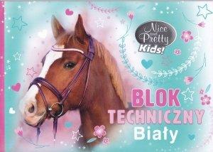 Blok techniczny A4 BENIAMIN Nice and Pretty KONIK (94470)