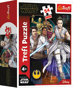 TREFL Puzzle mini 54 el. Star Wars, Siły mocy (19642)