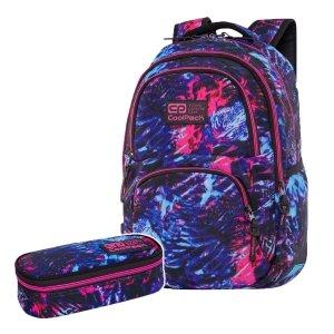ZESTAW 2 el. Plecak CoolPack DART 27 L tropikalny sen, TROPICAL DREAM (C19146SET2CZ)