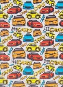 Teczka rysunkowa A4 PP z gumką CARS (TGN-01-06)