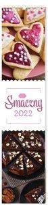 Kalendarz ścienny paskowy SMACZNY 2022 13,5 x 60 cm (00133)