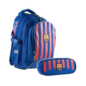 ZESTAW 2 el. Plecak szkolny 24 L FC-262 FC BARCELONA (502020002SET2CZ)
