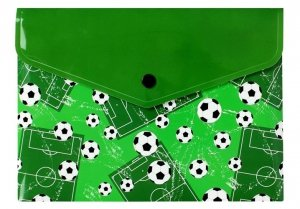 Teczka koperta A5  z nadrukiem PIŁKA NOŻNA FOOTBALL (TKN-04-02)