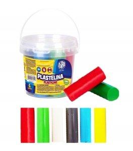 Plastelina w wiaderku 6 kolorów ASTRA (303106001)