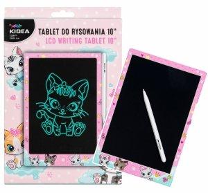 Tablet do rysowania LCD Kidea KOTKI Matryca 10 + magnetyczny rysik (TR10AKA)