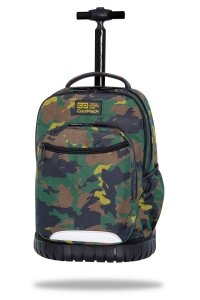 Plecak CoolPack SWIFT 29 L  na kółkach moro, MILITARY JUNGLE (C04179)