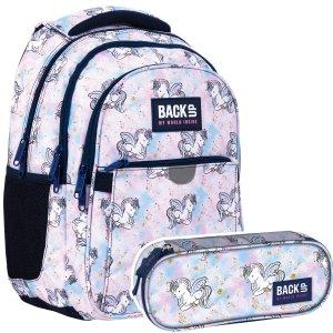 ZESTAW 2 el. Plecak wczesnoszkolny BackUP 24 L PEGAZ (PLB4P25SET2CZ)