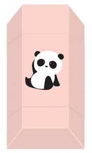 Gumka do mazania szkolna CUTE GIRL Panda Pandy (95781)