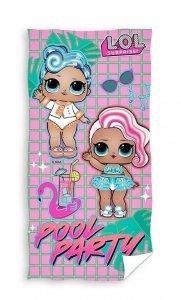 Ręcznik plażowy kąpielowy  LOL L.O.L SUPRISE 70 x 140 cm (LOL191006)