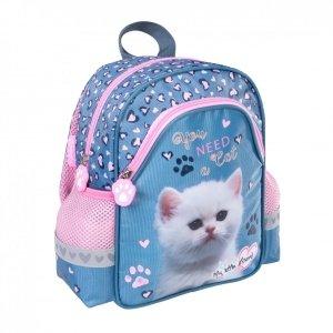 Plecak szkolno-wycieczkowy St. Majewski, My Little Friend KITTY Kotek (34376)