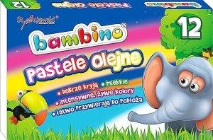 Pastele olejne BAMBINO 12 kolorów (03110)