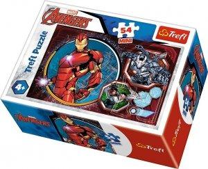 TREFL Puzzle mini 54 el. AVENGERS Iron Man (19615)