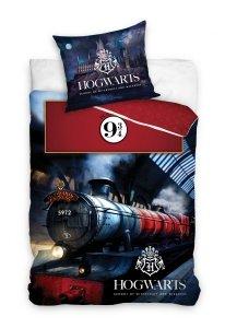 Pościel bawełniana Harry Potter 160 x 200 cm komplet pościeli (HP195018)