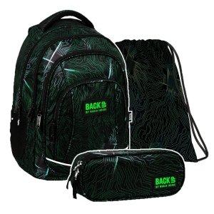 ZESTAW 3 el. Plecak szkolny młodzieżowy BackUP 26 L PROCESOR (PLB3A55SET3CZ)