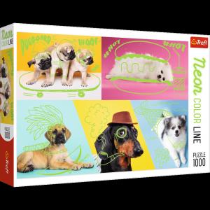 TREFL Puzzle 1000 el. Odlotowe psy (10578)