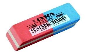 Gumka do mazania LYRA dwustronna kauczukowa (40122)