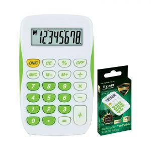 Kalkulator BIUROWY SZKOLNY zielony TOOR (120-1770)