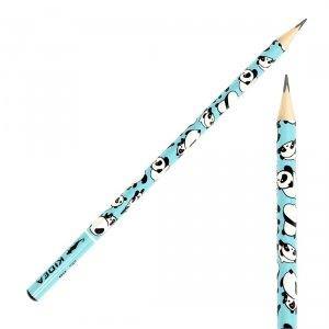Ołówek szkolny trójkątny KIDEA HB PANDA PANDY (OTNKA)