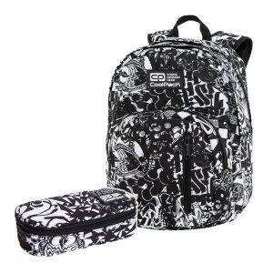 ZESTAW 2 el. Plecak CoolPack DISCOVERY 27 L styl uliczny, STREET STYLE (C38245SET2CZ)