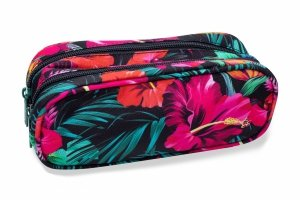 Piórnik CoolPack CLEVER w egzotyczne kwiaty, MAUI DREAM (B65039)