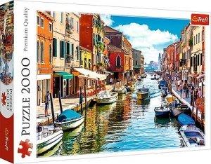 TREFL Puzzle 2000 el. Wyspa Murano Wenecja (27110)
