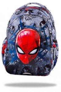 Plecak wczesnoszkolny CoolPack JOY S Spiderman na szarym tle, SPIDERMAN BLACK (B48303)