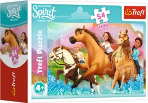 TREFL Puzzle mini 54 el. Spirit Riding Free, Czas na nową przygodę (19630)