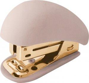 Zszywacz mały MINI SATIN GOLD beżowy (96054)