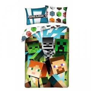 Komplet pościeli pościel Minecraft  140 x 200 cm (MNC-200BL)