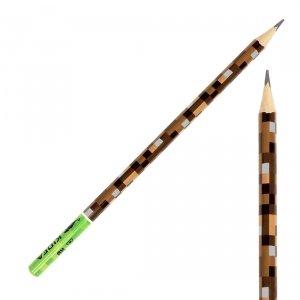 Ołówek szkolny trójkątny HB GAME dla fana gry MINECRAFT Kidea (OTNKA)