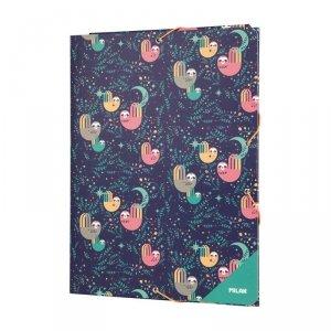 Teczka rysunkowa A4 z gumką Milan leniwce, CUDDLES (5130150CD)