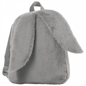 Plecak przedszkolny wycieczkowy z uszami SZARY (PL12US)